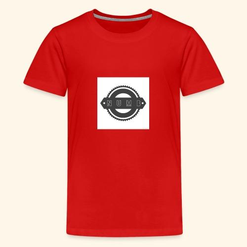 NumbClothingCo logo tee - Teenage Premium T-Shirt