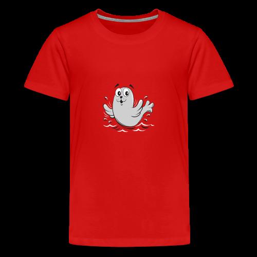 10-43 FUN BABY SEAL PRODUCTS - Teinien premium t-paita