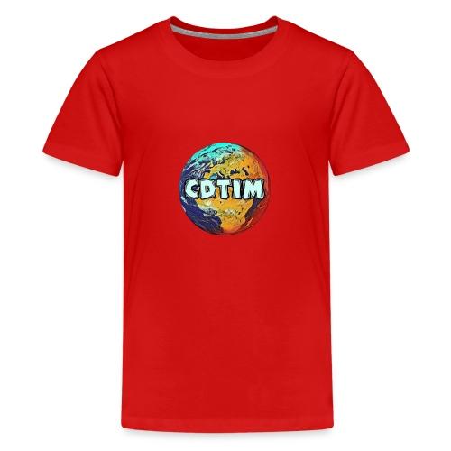 Cdtim - Maglietta Premium per ragazzi