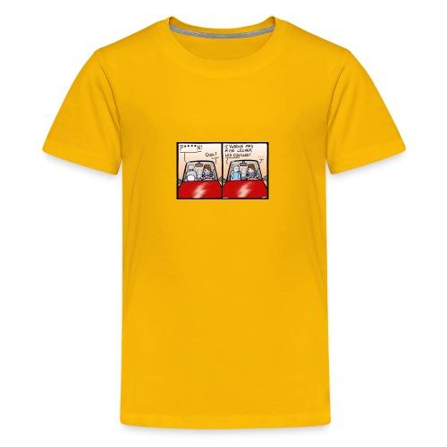 comme le chat - T-shirt Premium Ado