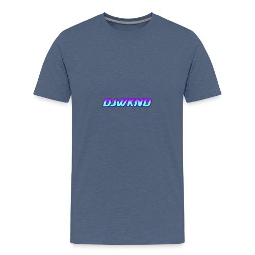 djwknd - Teinien premium t-paita