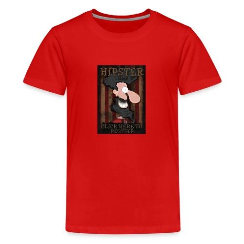 Hipster - Teenager Premium T-Shirt