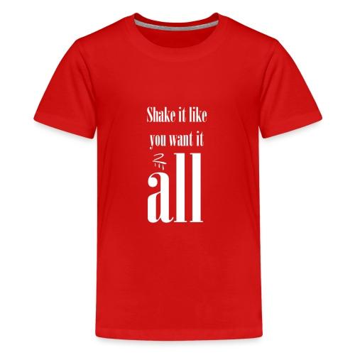 Falcon Eye - Teenage Premium T-Shirt
