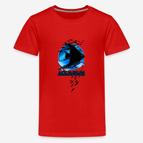 Fish aquarium keeper - Teenager Premium T-shirt