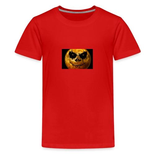 Halloween Mond Shadow Gamer Limited Edition - Teenager Premium T-Shirt