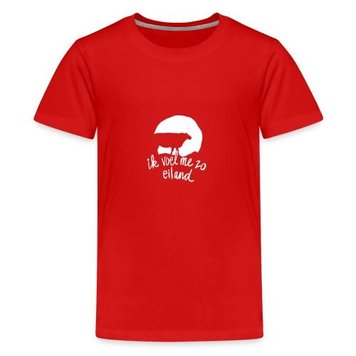 Ik voel me zo eiland - Teenager Premium T-shirt