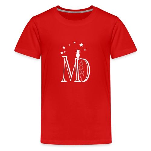 MadriG - Camiseta premium adolescente