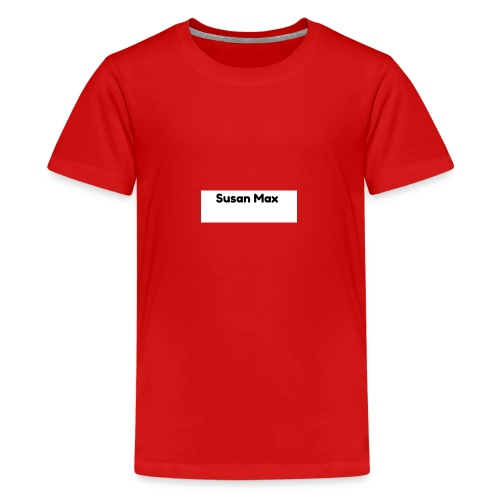Susan Max Logo - Teenage Premium T-Shirt