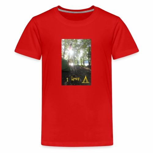 camping - Teenager Premium T-shirt