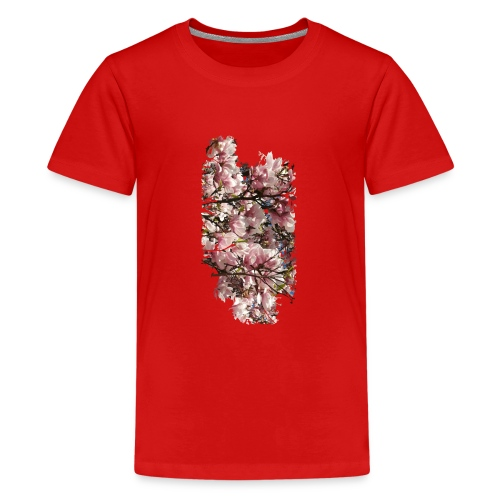 Tree Flower - Teenager Premium T-Shirt