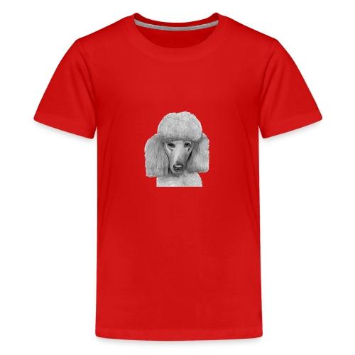 storpudel - standardpoodle abricot - Teenager premium T-shirt