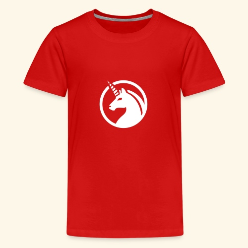 Unicorn / Einhorn - Teenager Premium T-Shirt
