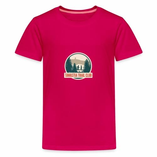 TawastiaTrailClub - Teinien premium t-paita