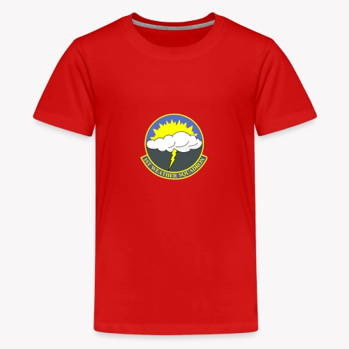 1st Weather Squadron - Teenager Premium T-Shirt