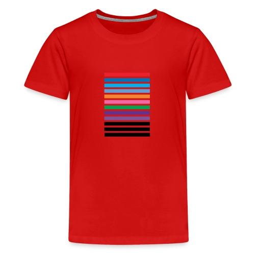Lines - Teenage Premium T-Shirt