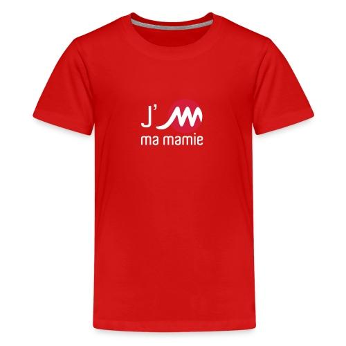 jMmamieblancrouge - T-shirt Premium Ado