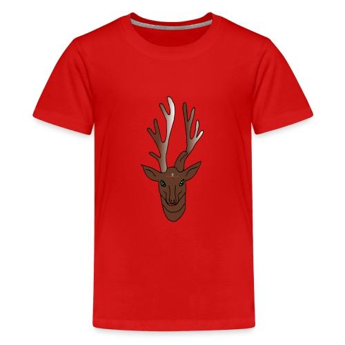 Rentier Rudi - Teenager Premium T-Shirt