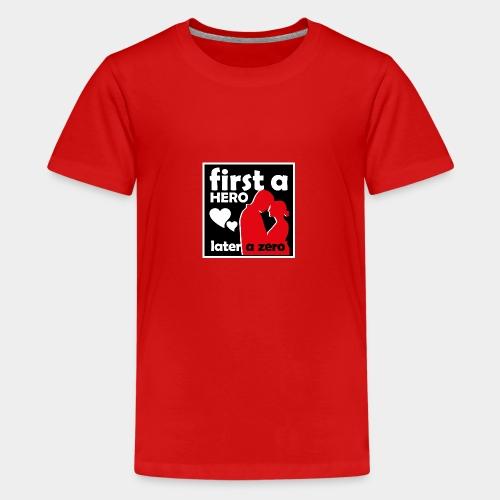 GHB from Hero to Zero 190320185 - Teenager Premium T-Shirt