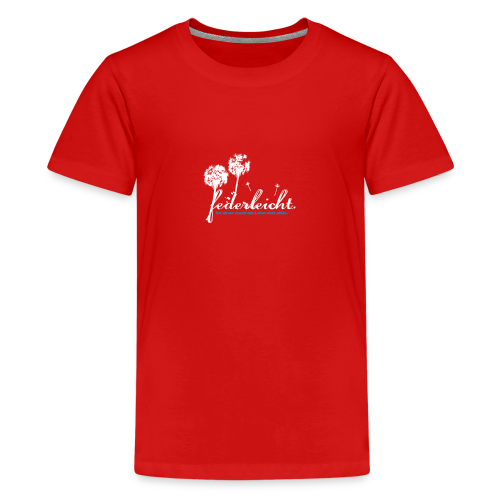 geweihbär Federleicht - Teenager Premium T-Shirt