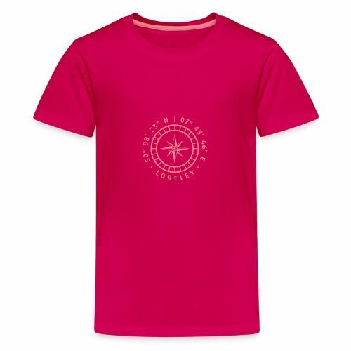 Kompass – Loreley - Teenager Premium T-Shirt