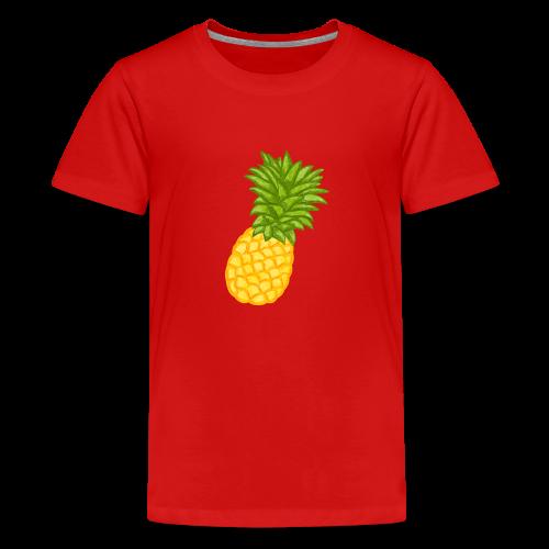 Ananas - Zeichnung - Teenager Premium T-Shirt