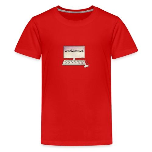 pastelsimmer Computer Merch - Koszulka młodzieżowa Premium