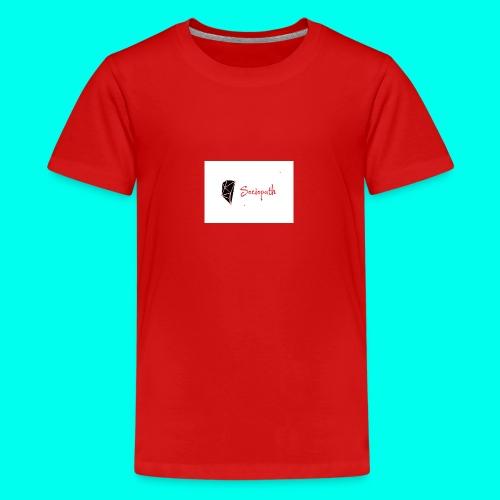 sociopath - Teenage Premium T-Shirt