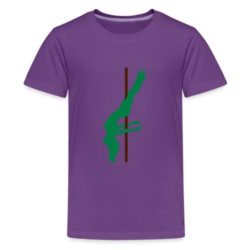 Pole Dance Pole Dancing - Maglietta Premium per ragazzi