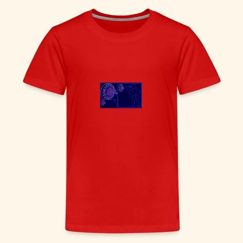 Dartblack BL b1 - Teenager Premium T-Shirt