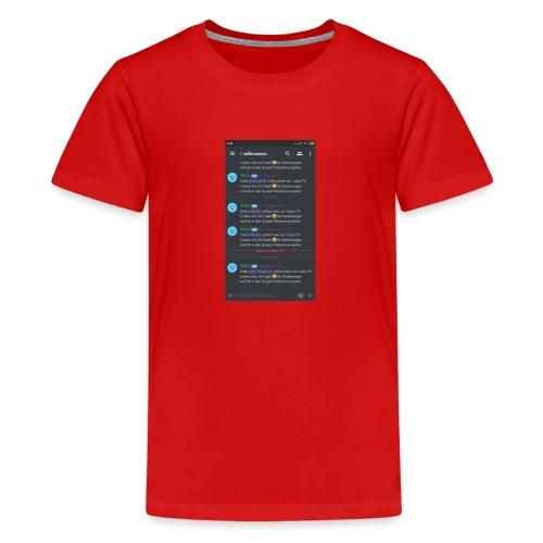 Zu meinem Server - Teenager Premium T-Shirt