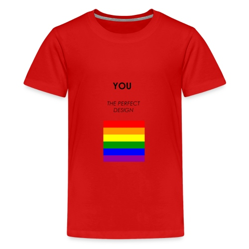 YOU. THE PERFECT DESIGN - Premium-T-shirt tonåring