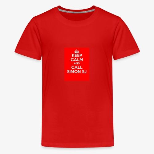 Keep Calm And Call Simon SJ - Premium-T-shirt tonåring