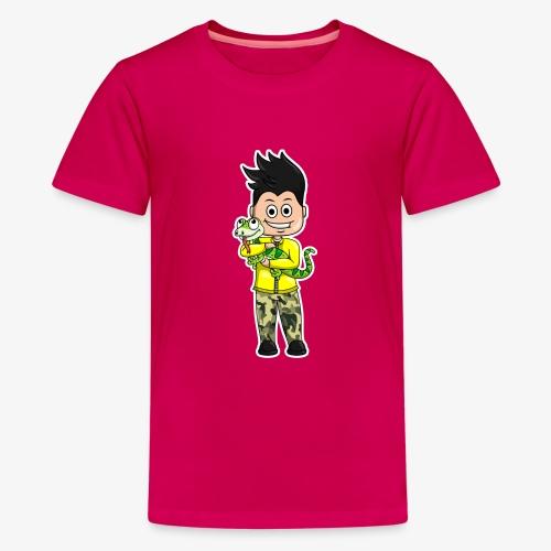 Tomu och ödlan - Premium-T-shirt tonåring