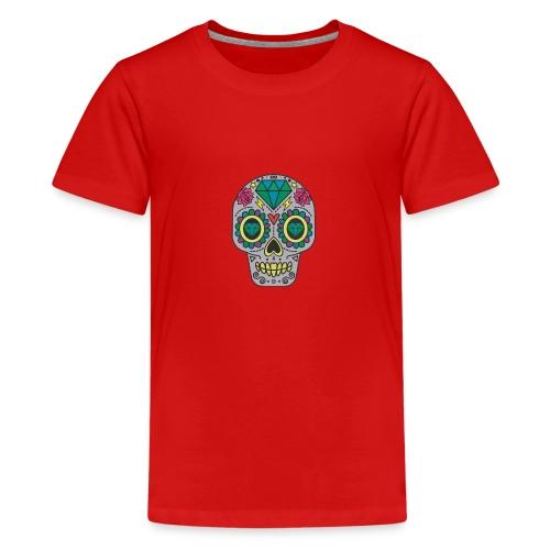 Money Skull - Teenager Premium T-Shirt