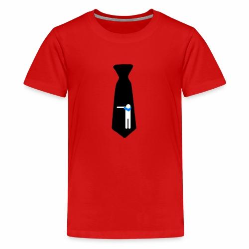 Cravatta Dab Black/ Kravatte / Cravate /Necktie - Maglietta Premium per ragazzi