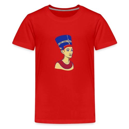 Nefertiti - Nofretete - Die Schöne - Teenager Premium T-Shirt