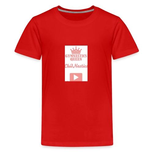 gymnastics queen 💎💎💎💎💎💎💎💎💎💎💎💎💎💎💎💎 - Teenage Premium T-Shirt