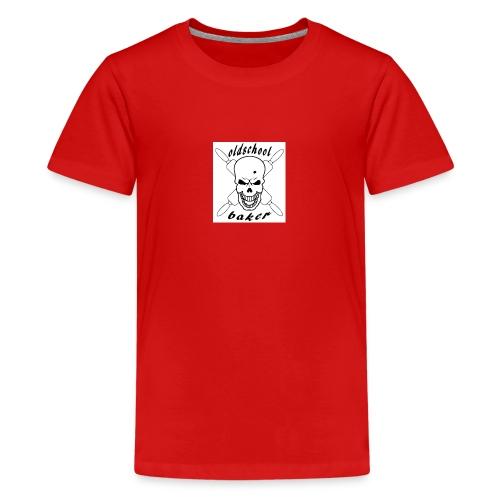 Oldschool baker - Teenager Premium T-Shirt