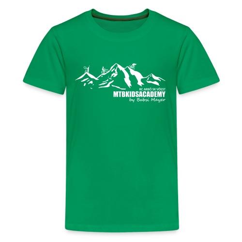 mtb kids academy4 white - Teenager Premium T-Shirt