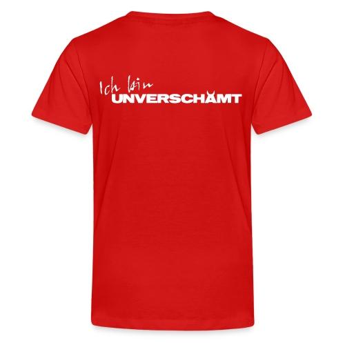 Schriftzug Ich bin - Teenager Premium T-Shirt