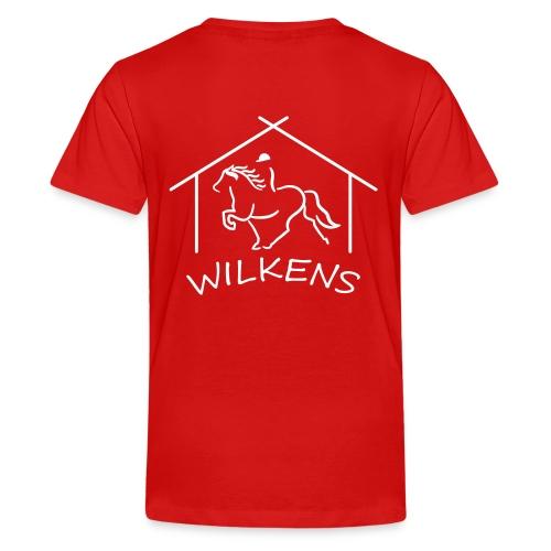 wilkens logo - Teenager Premium T-Shirt