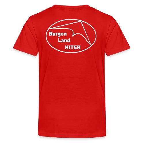 KITER LOGO BLK - Teenager Premium T-Shirt
