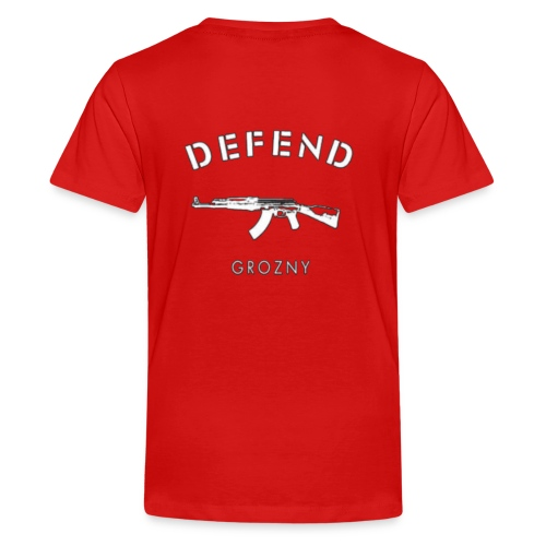 Defend Grozny - Teenager Premium T-Shirt