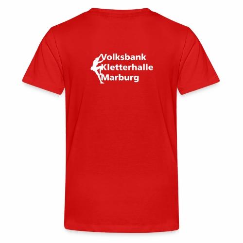 VKM weiss - Teenager Premium T-Shirt