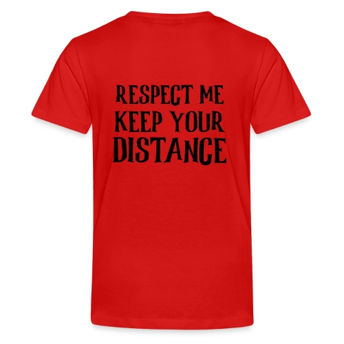 Keep Distance - Teenager premium T-shirt