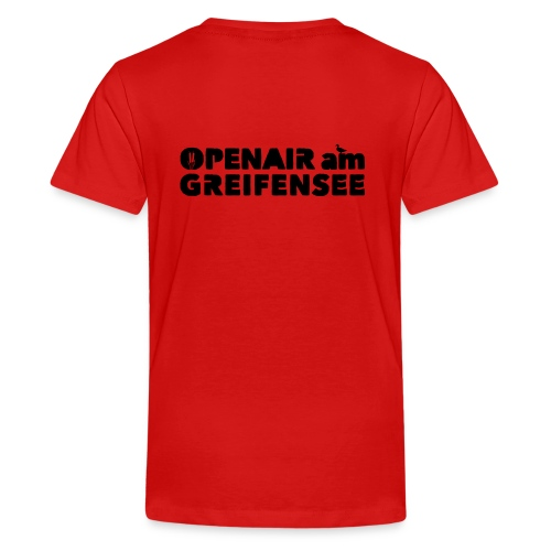 Openair am Greifensee 2018 - Teenager Premium T-Shirt