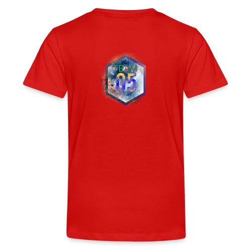 Very limited team05 logo - Teenager premium T-shirt