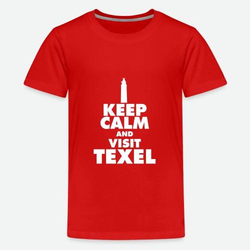 Keep calm and visit Texel - Teenager Premium T-Shirt