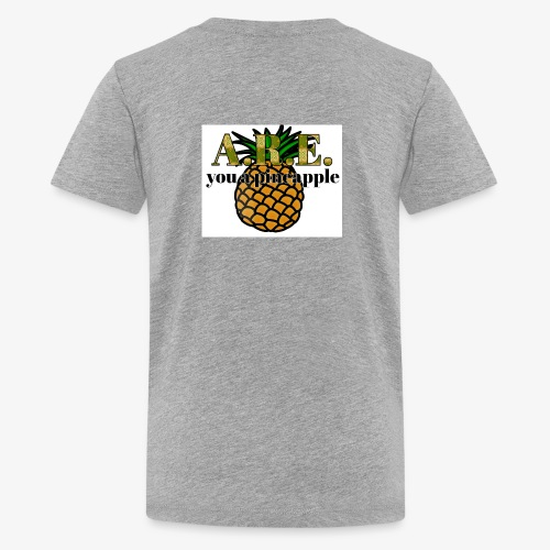 Are you a pineapple - Teenage Premium T-Shirt
