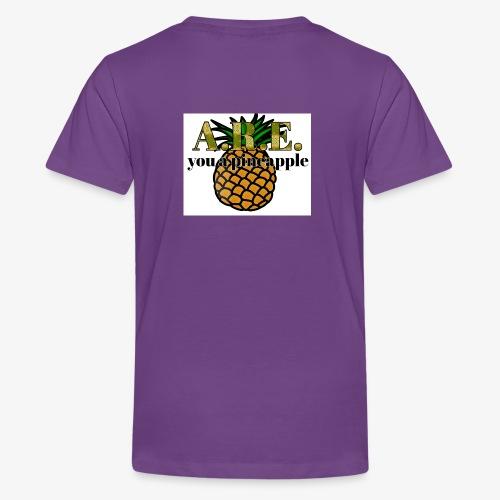 Are you a pineapple - Teenage Premium T-Shirt
